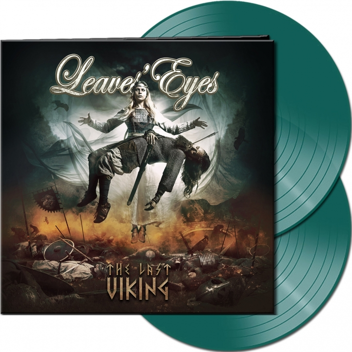 LEAVES EYES The Last Viking (Ltd. Gatefold Pinewood Green) 2LP VINYL 2020 (VÖ 23.10)