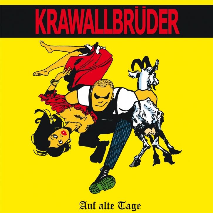 KRAWALLBRÜDER Auf Alte Tage (Lim. 180g Red) LP VINYL 2020
