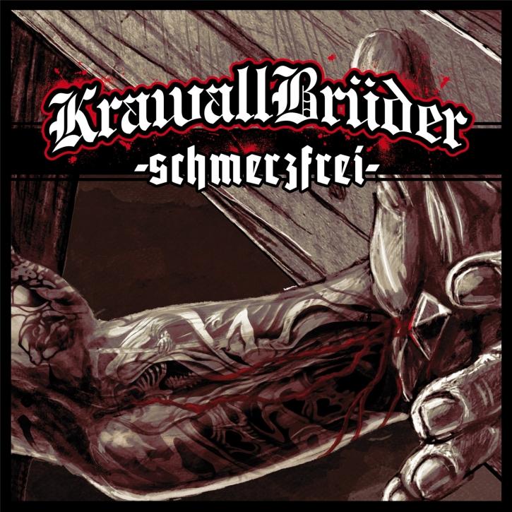 KRAWALLBRÜDER Schmerzfrei (Lim180g Green/Black/WhiteSplatter) LP VINYL 2020