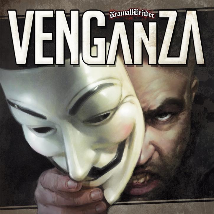 KRAWALLBRÜDER Venganza (Lim 180g Blue/Black/White Splatter) LP VINYL 2020