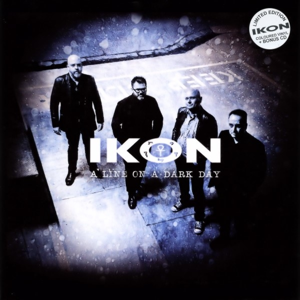 "IKON A Line On A Dark Day LIMITED 7"" RED VINYL + CD 2020"