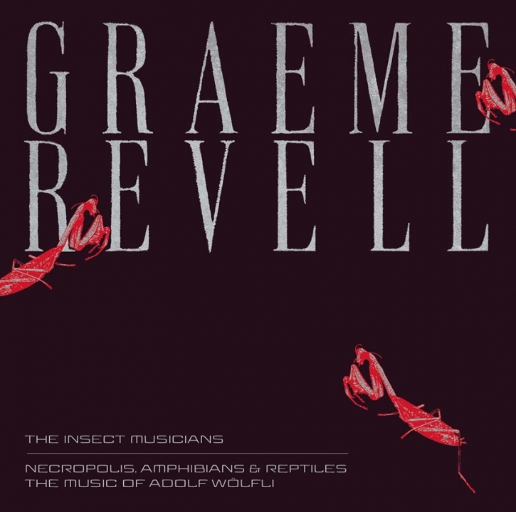 GRAEME REVELL [S.P.K.] The Insect Musicians / Necropolis, Amphibians & Reptiles LIMITED 2CD Digipack 2020