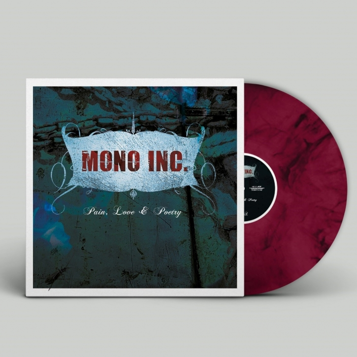 MONO INC. Pain, Love & Poetry LP VINYL 2020 (VÖ 11.12)