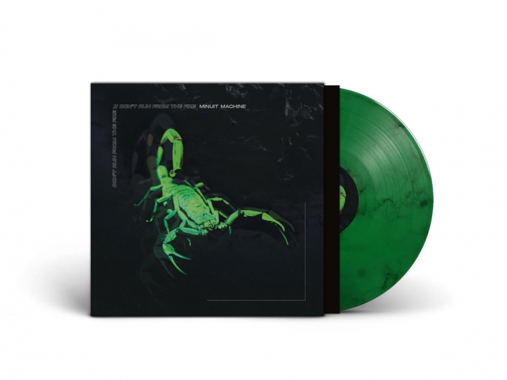 "MINUIT MACHINE Don't run from the Fire [limited Green with Black Marbles] 12"" VINYL 2020"