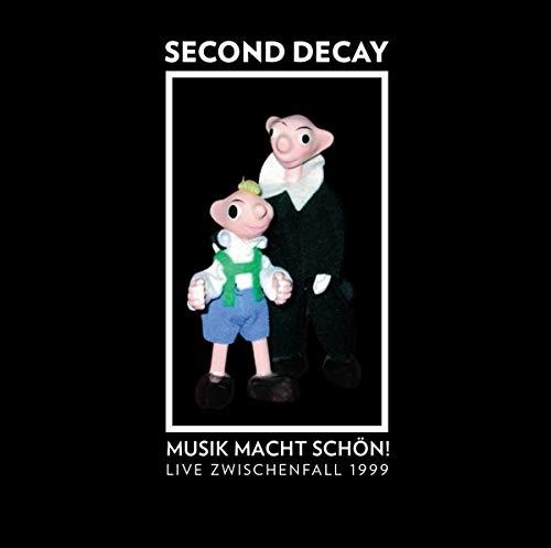 SECOND DECAY Musik macht schön! Live Zwischenfall 1999 CD Digipack 2020 LTD.500