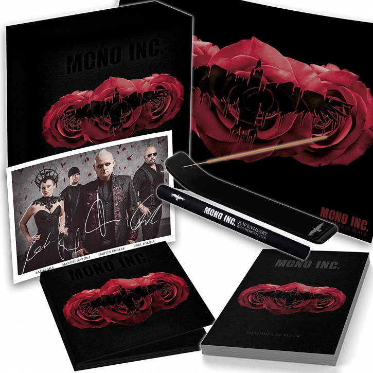 MONO INC. Melodies In Black LIMITED FAN BOX 2020 (VÖ 27.11)