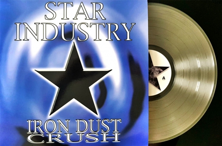STAR INDUSTRY Iron Dust Crush LP CLEAR VINYL 2020 LTD.100