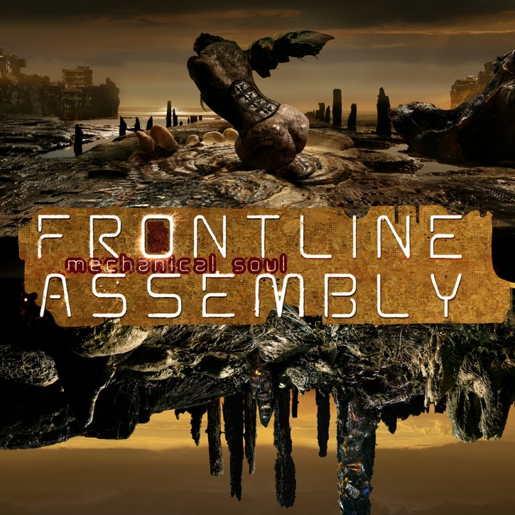 FRONT LINE ASSEMBLY Mechanical Soul CD Digipack 2021