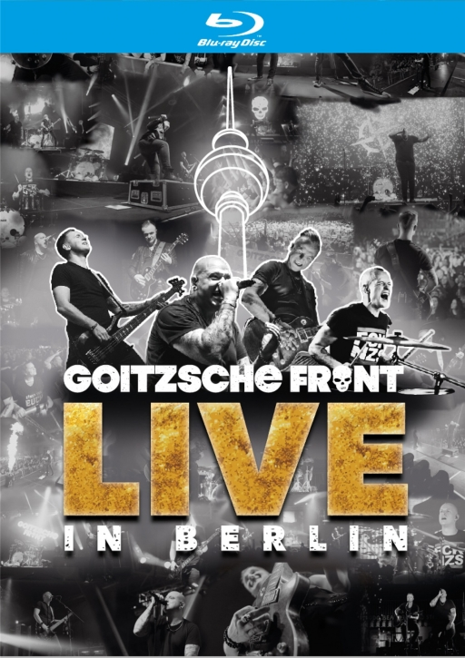 GOITZSCHE FRONT Live in Berlin 2CD + 2BLURAY 2020