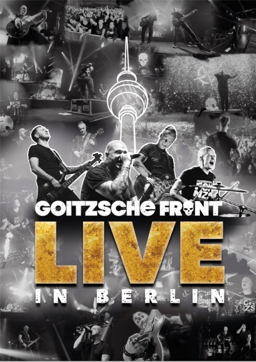 GOITZSCHE FRONT Live in Berlin 2CD + 2DVD 2020