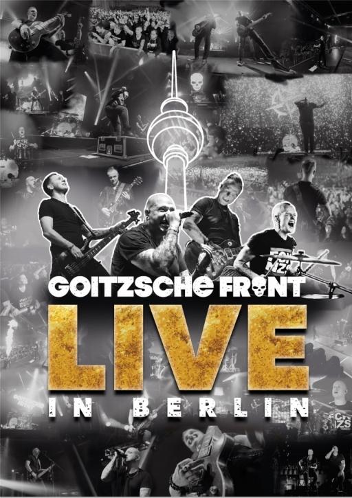 GOITZSCHE FRONT Live in Berlin 2CD + 2DVD 2020 (VÖ 04.12)