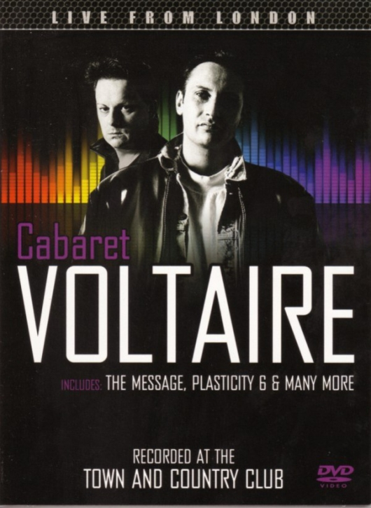 CABARET VOLTAIRE Live From London DVD 2013