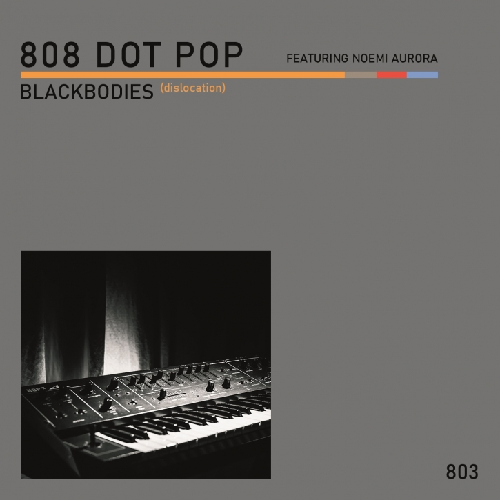 "808 DOT POP Blackbodies (dislocation) LIMITED 7"" VINYL 2020"