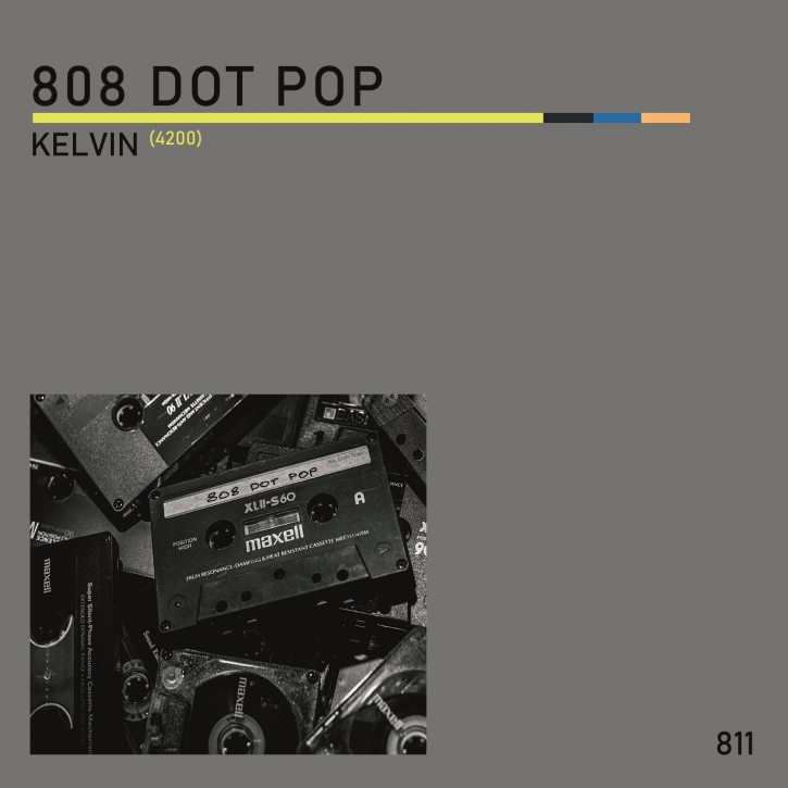 "808 DOT POP Kelvin (4200) LIMITED 7"" VINYL 2020"