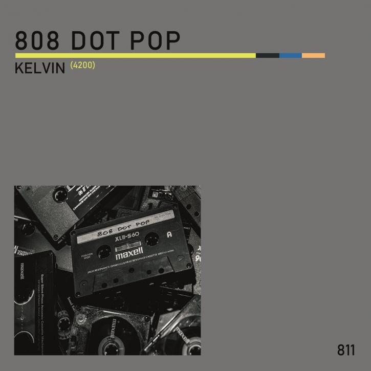 """808 DOT POP Kelvin (4200) LIMITED 7"""" VINYL 2020 (VÖ 04.12)"""