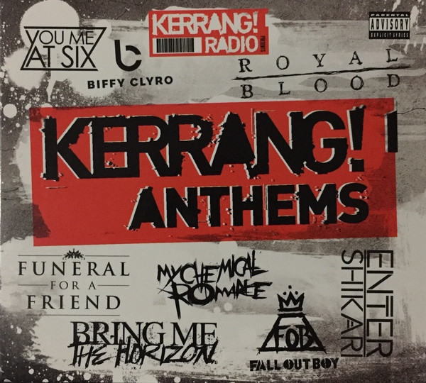 Kerrang! Anthems 2CD Digipack 2016 Disturbed STATIC-X Machine Head MILLENCOLIN