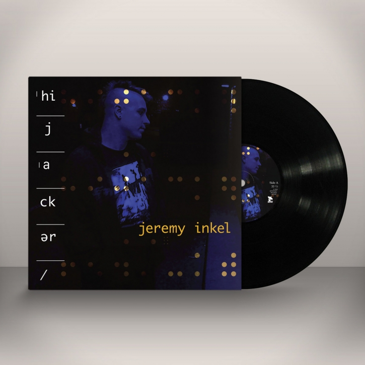 JEREMY INKEL Hijacker LIMITED LP VINYL 2020 (FRONT LINE ASSEMBLY)