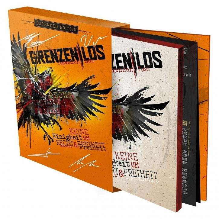 GRENZENLOS Keine Einigkeit um Recht & Freiheit (LTD. + SIGNED) 2CD Extended Edition 2020 (VÖ 11.12)