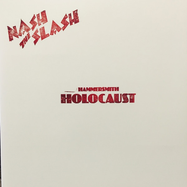 NASH THE SLASH Hammersmith Holocaust LIMITED LP SQUARE-SPLATTER VINYL 2016