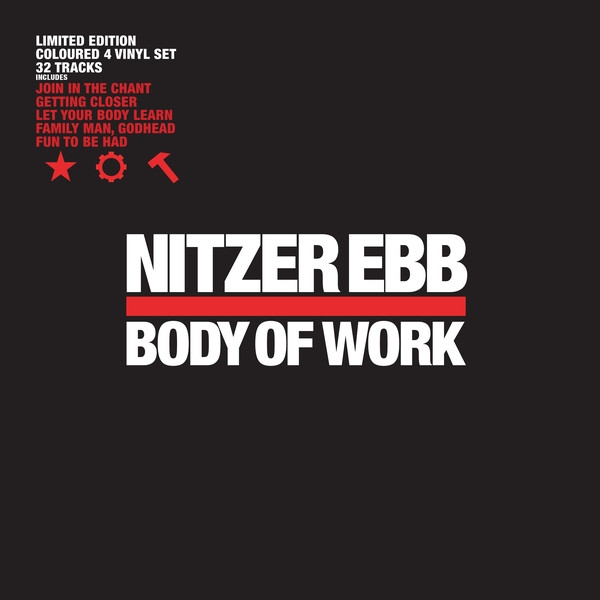 NITZER EBB Body Of Work LIMITED 4LP VINYL+MP3 2019
