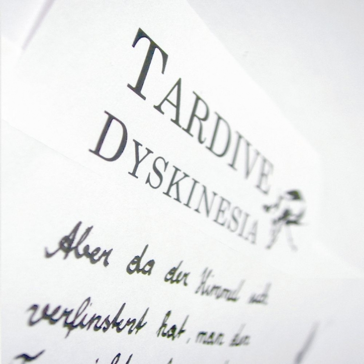 TARDIVE DYSKINESIA The Letter CD 2012