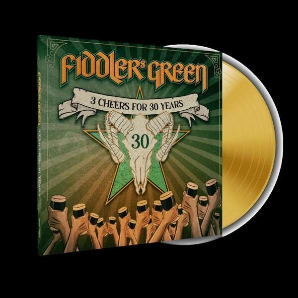 FIDDLER'S GREEN 3 Cheers For 30 Years! LIMITED LP COLORED VINYL 2020