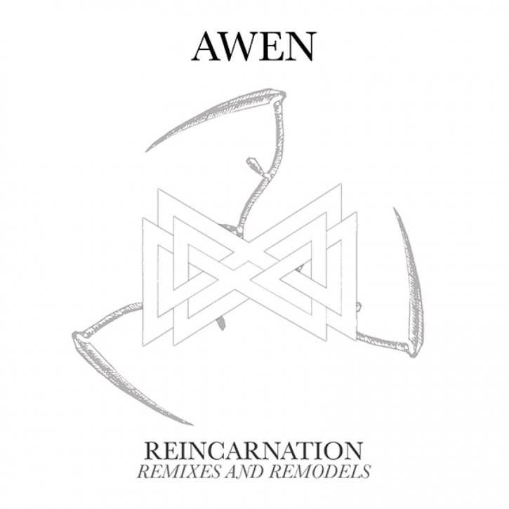 AWEN Reincarnation CD Digipack 2021 (Nachtmahr SPIRITUAL FRONT Ostara) (VÖ 29.01)