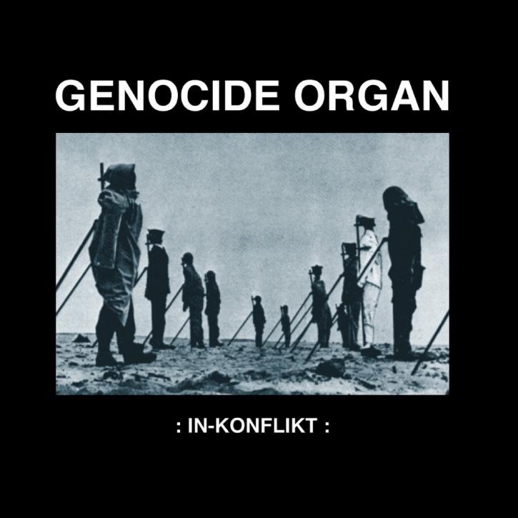 GENOCIDE ORGAN In-Konflikt (Remastered) LP VINYL 2020 LTD.500