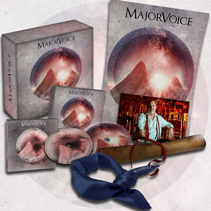 MAJORVOICE Morgenrot FAN-BOX 2021 LTD.500 (VÖ 22.01)