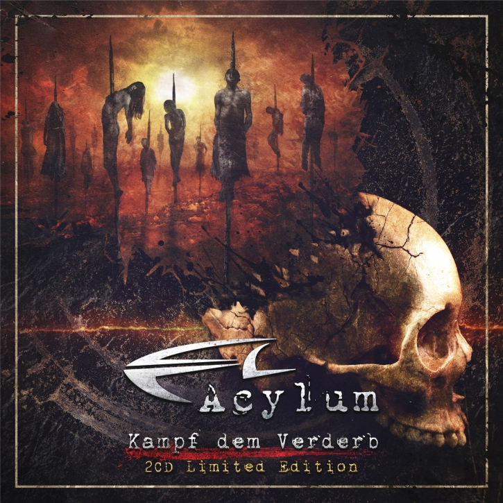 ACYLUM Kampf Dem Verderb LIMITED 2CD Digipack 2021