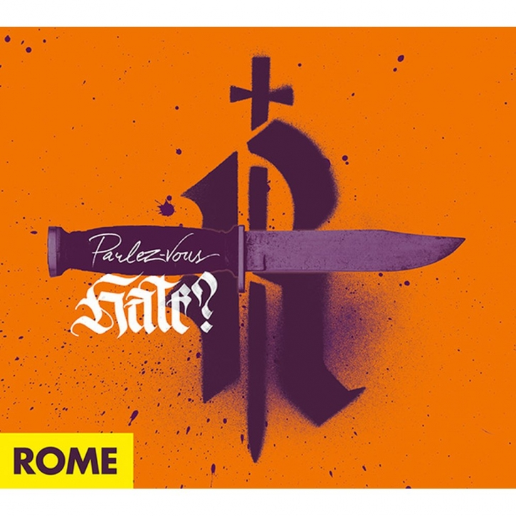 ROME Parlez-Vous Hate? CD Digipack 2021 (VÖ 29.01)