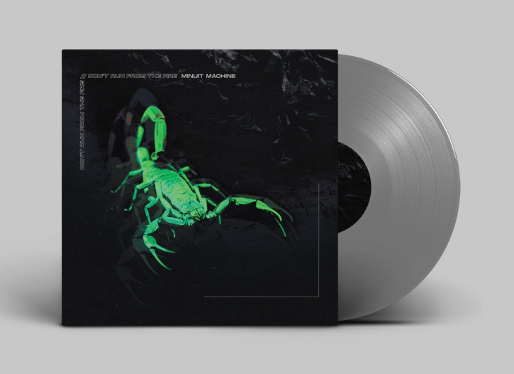 """MINUIT MACHINE Don't run from the Fire [limited Silver] 12"""" VINYL 2020"""