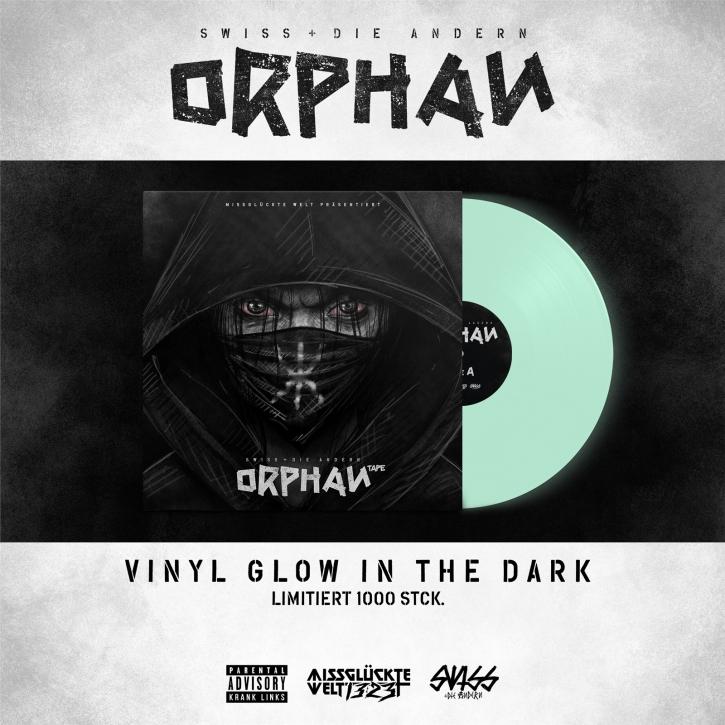 SWISS & DIE ANDERN Orphan LIMITED LP GLOW IN THE DARK VINYL 2021 (VÖ 05.02)