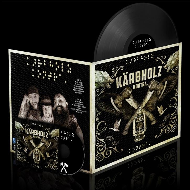 KÄRBHOLZ Kontra. LP GATEFOLD VINYL+CD 2021 (VÖ 29.01)