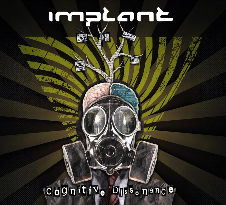 IMPLANT Cognitive Dissonance CD Digipack 2021 (VÖ 26.03)