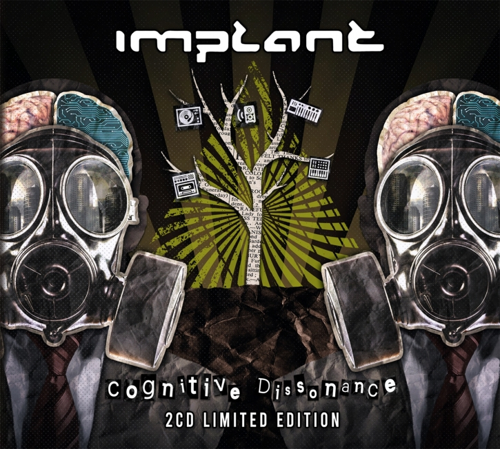 IMPLANT Cognitive Dissonance LIMITED 2CD Digipack 2021 (VÖ 26.03)