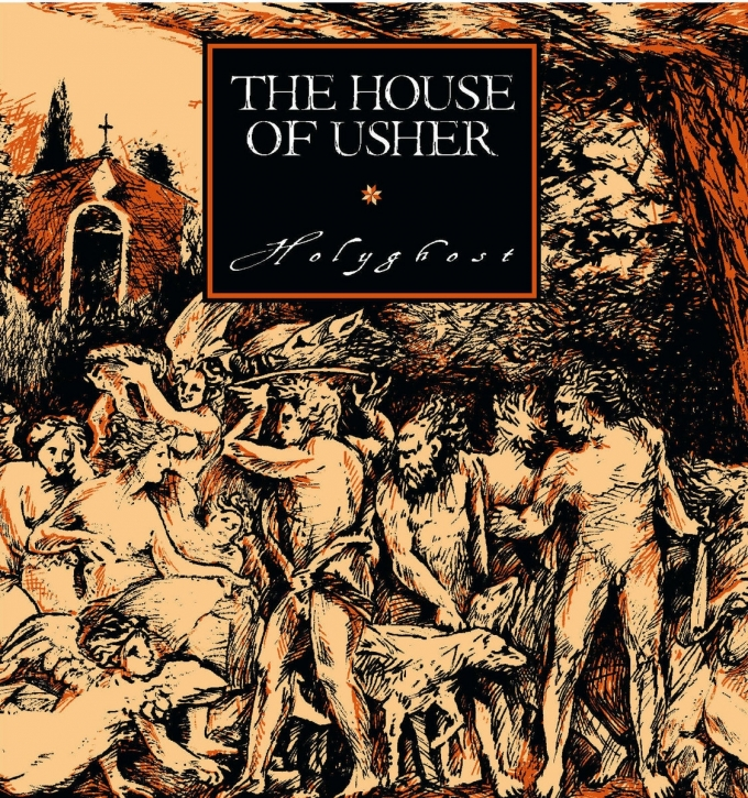 THE HOUSE OF USHER Holyghost CD+POSTER 2020