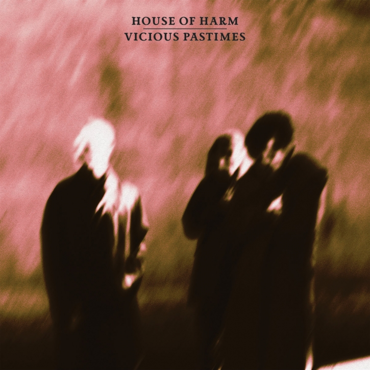 HOUSE OF HARM Vicious Pastimes LIMITED LP MINT GREEN VINYL 2020