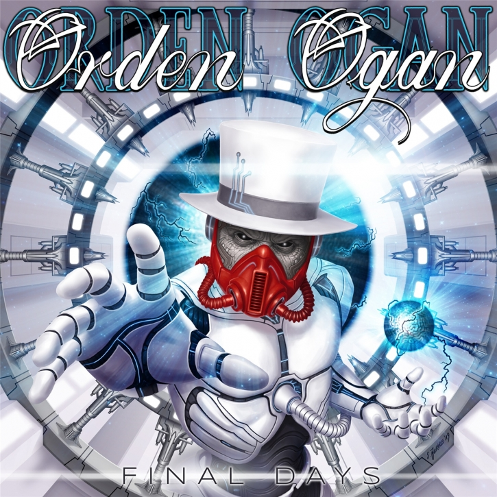 ORDEN OGAN Final Days CD+DVD Digipack 2021 (VÖ 12.03)