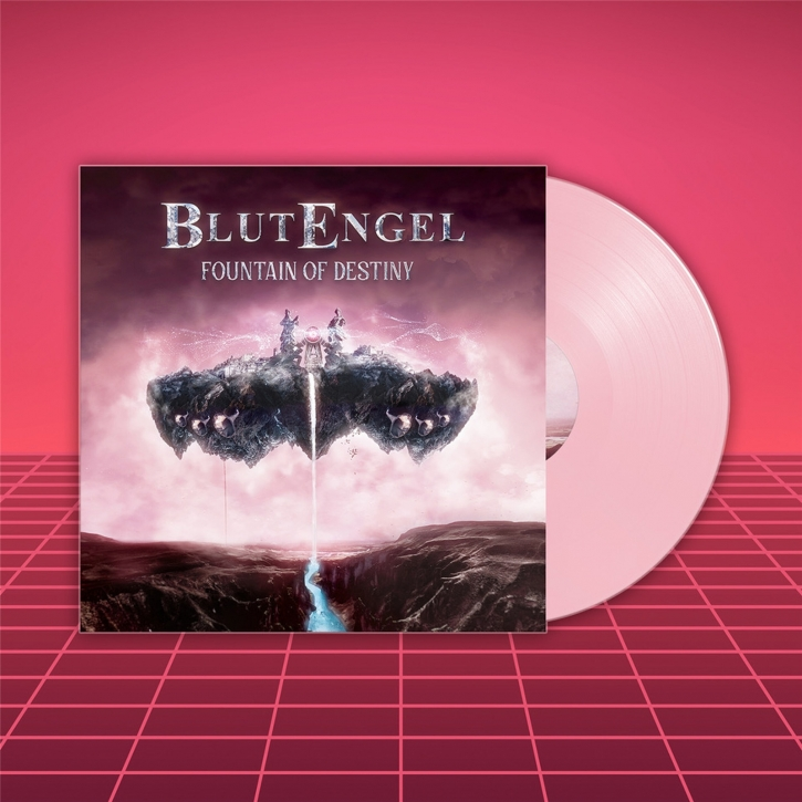 BLUTENGEL Fountain Of Destiny LIMITED LP COLORED VINYL 2021 (VÖ 09.04)