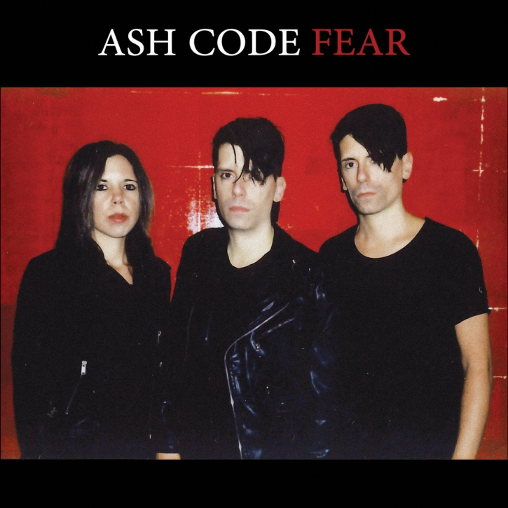 ASH CODE Fear LP RED VINYL 2021 LTD.150