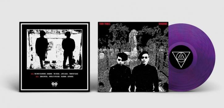 TWIN TRIBES Shadows [purple transparent] LP VINYL 2020
