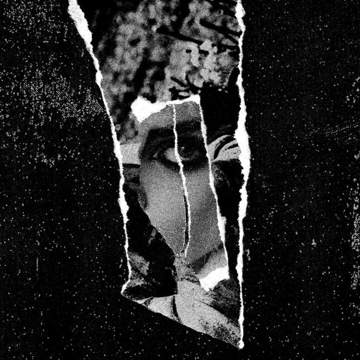 FOREVER GREY Departed [blue & black] LP VINYL 2020