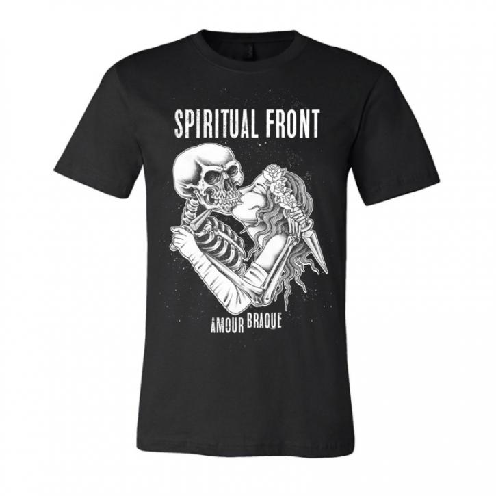 SPIRITUAL FRONT Amour Braque T-SHIRT