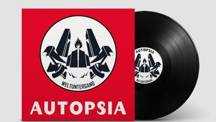 AUTOPSIA Weltuntergang LIMITED LP BLACK VINYL 2021