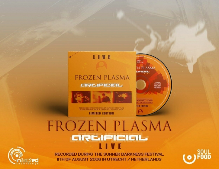 FROZEN PLASMA Artificial Live CD Digipack 2021 LTD.300