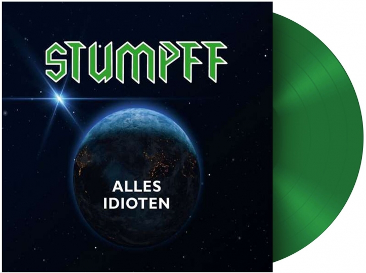 TOMMI STUMPFF Alles Idioten LIMITED LP GREEN VINYL 2021