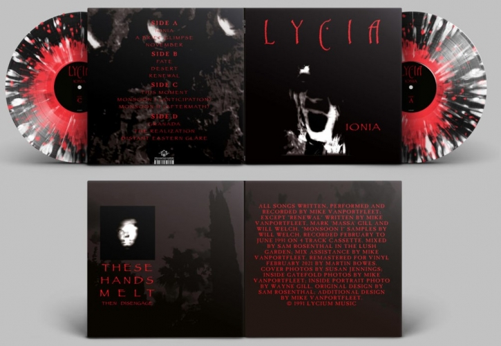 LYCIA Ionia [red, black & white] LIMITED 2LP VINYL 2021