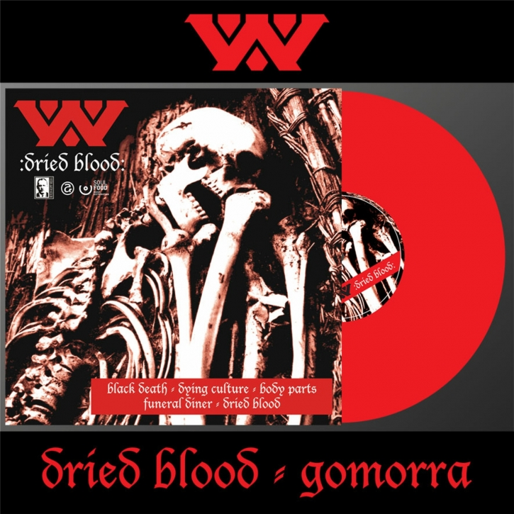 WUMPSCUT Dried Blood & Gomorra LP RED VINYL 2021 LTD.300