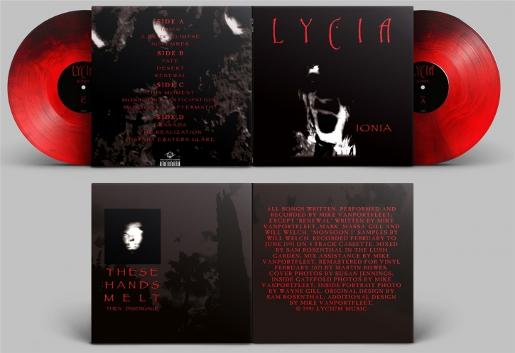 LYCIA Ionia [red & black] LIMITED 2LP VINYL 2021